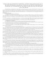 Luật tố tụng dân sự và các văn bản hướng dẫn thi hành