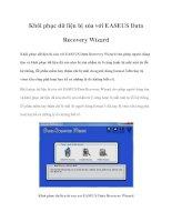 Khôi phục dữ liệu bị xóa với EASEUS Data Recovery Wizard potx