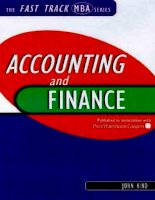 Accounting and Finance for Managers ppt
