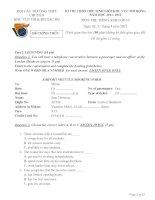 Đề thi HSG khu vực Bắc Bộ năm 2012 Môn Anh 10 pdf