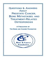 Questions & Answers About Prostate Cancer, Bone Metastases, and Treatment-Related Osteoporosis pot