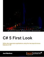 C# 5 First Look doc