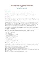 Đề thi Nghiệp vụ giao dịch viên tại LienvietBank (5/2008) pptx