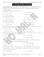 Đề thi viết biểu thức điện áp và dòng điện 26 câu