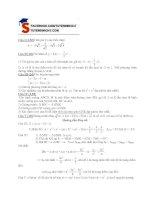 Đề Thi Thử Lớp 10 Toán Học 2013 - Phần 4 - Đề 15 pot