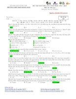 Đề thi thử ĐH năm 2013 môn Sinh có đáp án đề số 6 pot
