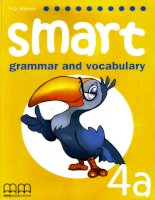 smart grammar and vocabulary 4a