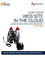 Host Your Web Site in the Cloud: Amazon Web Services Made Easy pdf