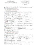 trường thpt chuyên huỳnh mẫn đạt - đề thi anh văn 12 học kì 2 (đề số 199)