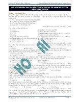 Phương pháp giải các bài tập đặc trưng về anđehit - xeton bài tập tự luyện pdf