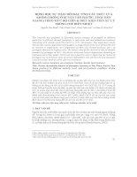 ĐỘNG HỌC SỰ THAY ĐỔI ĐẶC TÍNH CẤU TRÚC CỦA KHÓM (TRỒNG Ở HUYỆN TÂN PHƯỚC, TỈNH TIỀN GIANG) THEO MỨC ĐỘ CHÍN & ĐIỀU KIỆN TIỀN XỬ LÝ TRONG CHẾ BIẾN NHIỆT pdf