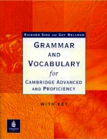 Grammar vocabulary for cambridge adanvaced And Proficiency pdf