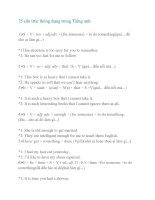 75 cấu trúc thông dụng trong Tiếng anh pptx