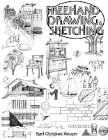Freehand drawing sketching