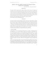 PHÂN LẬP CÁC DÒNG VI KHUẨN CÓ KHẢ NĂNG PHÂN HỦY TINH BỘT pdf
