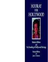 HOORAY FOR HOLLYWOOD: Marian Gibbons and The Founding of Hollywood Heritage docx
