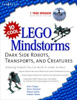 lego mindstorms dark side robots transports and creatures pot