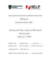 Luận văn:hoàn thiện chiến lược phát triển trong giai đoạn 2011 – 2015 tại Tổng công ty Vinaconex pdf