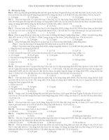 GIẢI TOÁN BẰNG PHƯƠNG PHÁP BẢO TOÀN ELECTRON II docx