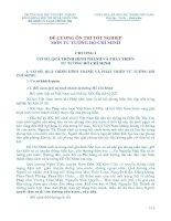 ĐỀ CƯƠNG ÔN THI TỐT NGHIỆP MÔN TƯ TƯỞNG HỒ CHÍ MINH doc