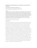 Coping with ageing and failing health: A qualitative study among elderly living alone doc