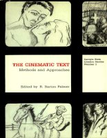 THE CINEMATIC TEXT: METHODS AND APPROACHES doc