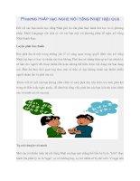 Phương pháp học nghe nói tiếng Nhật hiệu quả doc