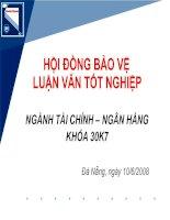 Quản trị rủi ro trong hoạt động kinh doanh ngân hàng điện tử tại Ngân hàng Đầu tư và Phát triển Việt Nam (BIDV) – Chi nhánh Đà Nẵng ppt