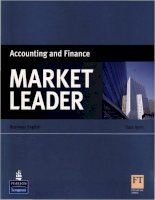 Market Leader - Accounting and Finance pot