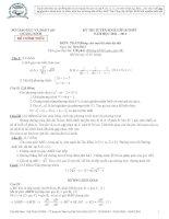Đề toán tuyển sinh lớp 10 của các tỉnh Đề 36 pdf