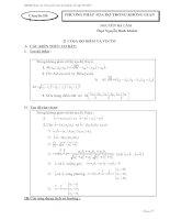 Tài liệu tham khảo ôn tập thi tốt nghiệm 2013 chuyên đề 7 phương pháp toạ độ trong không gian pot