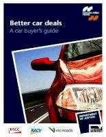 Better car deals A car buyer's guide pptx