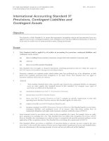 International Accounting Standard 37 Provisions, Contingent Liabilities and Contingent Assets docx