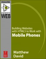 focal press -   building websites with html5 to work with mobile phones (2011)