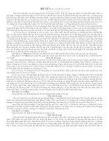 đề thi luật dân sự Đề 12 Mã số: LS.DS/TN-12/240