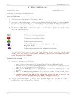 Ngân hàng câu hỏi sinh học bằng tiếng anh - chuyên ngành công nghệ sinh học