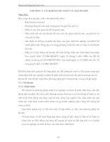 Giáo trình Nguyên lý kế toán - CHƯƠNG 3: TÀI KHOẢN KẾ TOÁN VÀ GHI SỔ KÉP doc