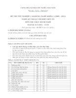đề thi tốt nghiệp cao đẳng nghề-kỹ thuật chế biến món ăn-môn thi thực hành nghề mã đề thi ktcbma – th (6)