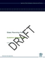 State Planning Policy - Guideline: Strategic ports docx