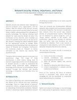 NetworkSecurity:History,Importance,andFuture UniversityofFloridaDepartmentofElectricalandComputerEngineering pot