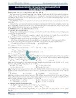 Bảo toàn nguyên tố trong các bài toán hữu cơ tài liệu bài giảng docx