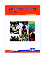 grant management manual en