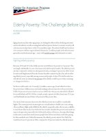 Elderly Poverty: The Challenge Before Us doc