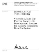 information technology it veterans affairs can further improve potx