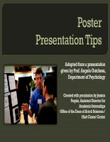 POSTER PRESENTATION TIPS docx