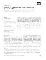 Báo cáo khoa học: S-Layers as a basic building block in a molecular construction kit ppt