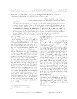 ĐIỀU KIỆN TỰ NHIÊN VÀ TÀI NGUYÊN THIÊN NHIÊN ẢNH HƯỞNG ĐẾN PHÁT TRIỂN KINH TẾ - XÃ HỘI TỈNH TUYÊN QUANG pot