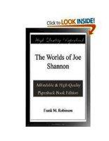 The Worlds of Joe Shannon pdf