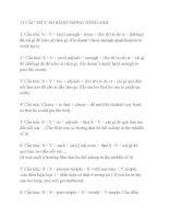 51 CẤU TRÚC SO SÁNH TRONG TIẾNG ANH pptx