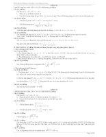 Tuyển tập các đề luyện thi Đại học và Cao đẳng môn Toán pptx
